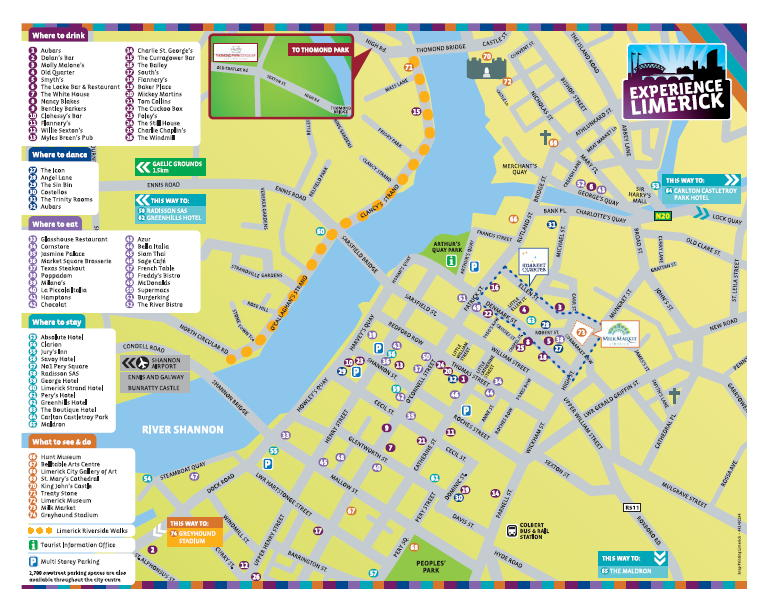 limerick map: